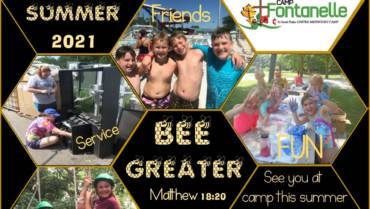 Marketing Materials for churches to promote Camp Fontanelle